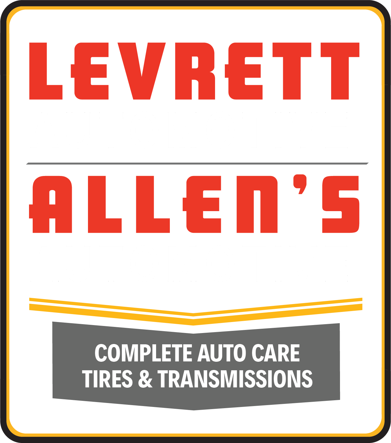 Levrett Automotive & Allen's Automotive Logo